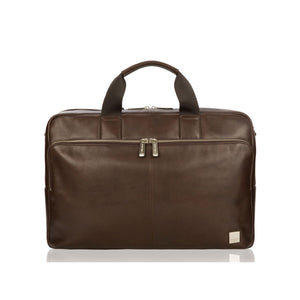 "Brompton Classic/Amesbury 15"" Brown Briefcase"