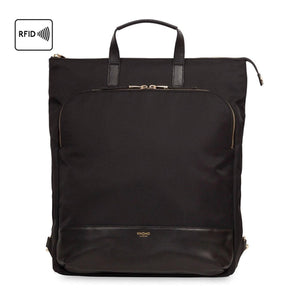 Mayfair/Harewood laptop tote backpack Black