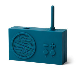 TYKHO 3 FM Radio & Bluetooth Speaker - Duck Blue