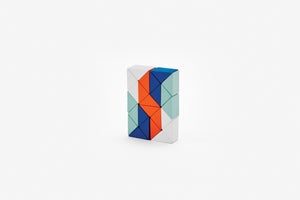 Snake Block Puzzle Small - Red/Blue