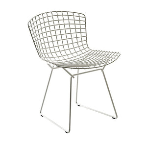 Bertoia Side Chair Polished Chrome