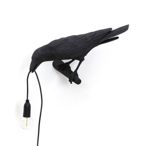 Bird Lamp Looking