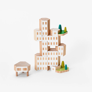 Blockitecture Building Blocks - Garden City