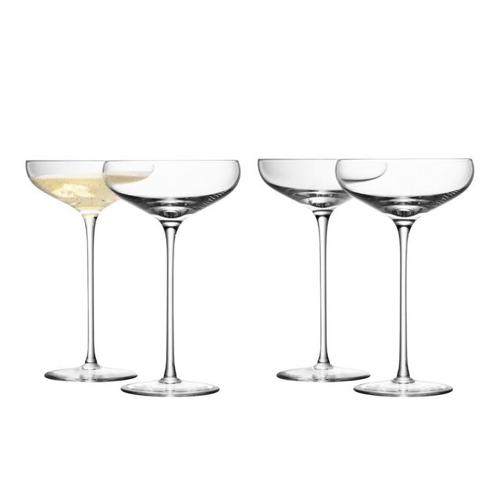 Champagne Saucer - Set of 4