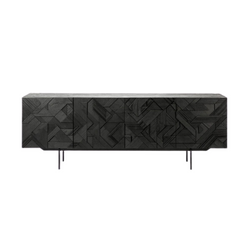 Teak Graphic Sideboard - 2 Sizes Available