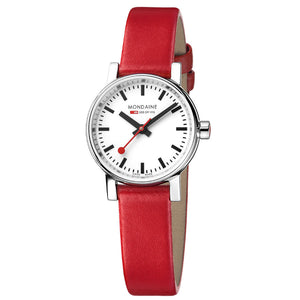 Evo2 Petite 26mm Red Strap Watch