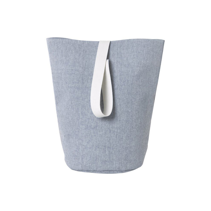 Chambray Basket - Blue Large