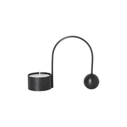 Balance T-Light Holder Black