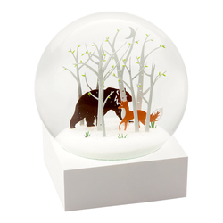 Snow Globe Fox and Bear