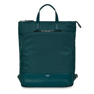 Mayfair/Harewood Laptop Tote Backpack Deep Pine