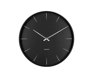 Lure Wall Clock Black