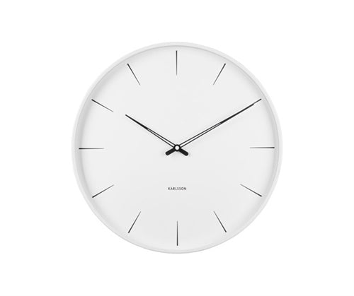 Lure Wall Clock White