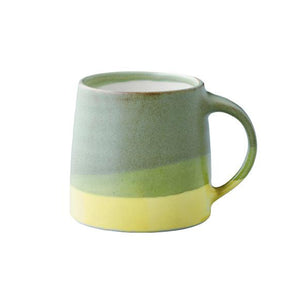 SCS Mug Moss Green & Yellow