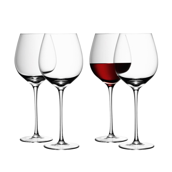 Red Wine Glass - Set of 4