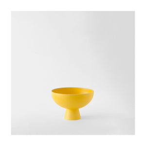 STRØM Bowl Small Yellow