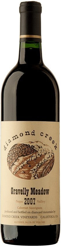 Diamond Creek Gravelly Meadow Napa Valley Cabernet Sauvignon 2007