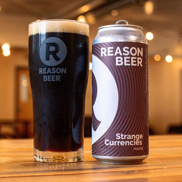 Reason Beer Strange Currencies Porter