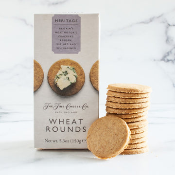 Fine English Wheat Rounds -The Fine Cheese Co.