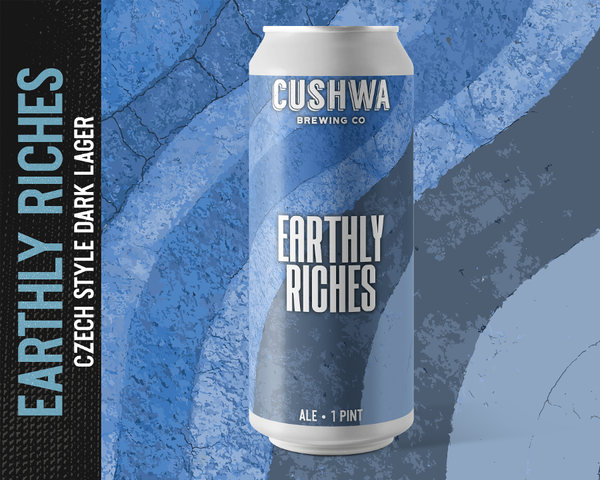 Cushwa Earthly Riches Dark Czech Lager