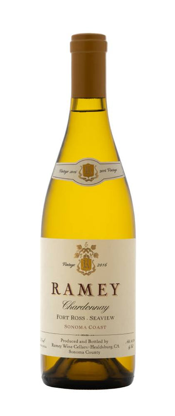 Ramey Fort Ross Seaview Sonoma Coast Chardonnay 2016