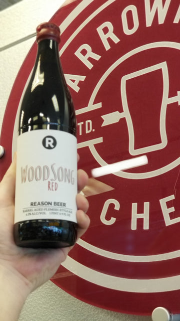 Reason Beer Co Wood Song Red