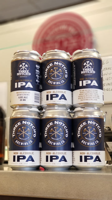 Three Notch'd Non-Alcoholic IPA *single cans*