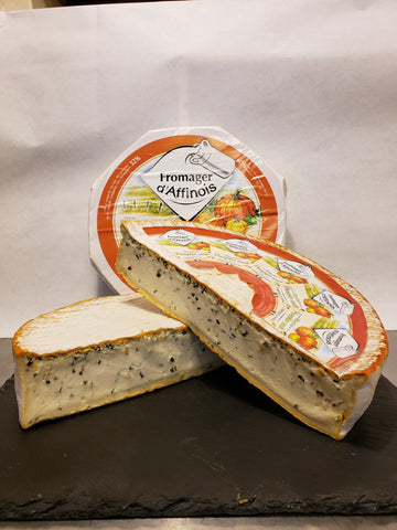 Fromage D'Affinois with Pumpkin Seeds