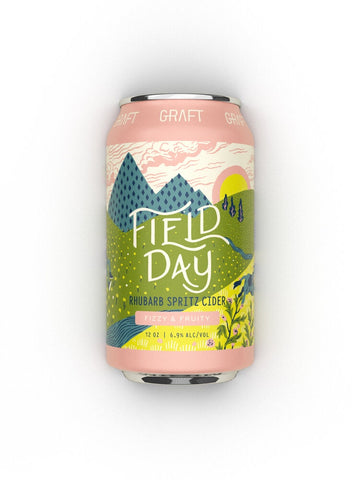 Graft Cider Field Day Rhubarb Spritz