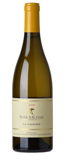 "Peter Michael ""La Carrière"" Knights Valley Chardonnay 2018"