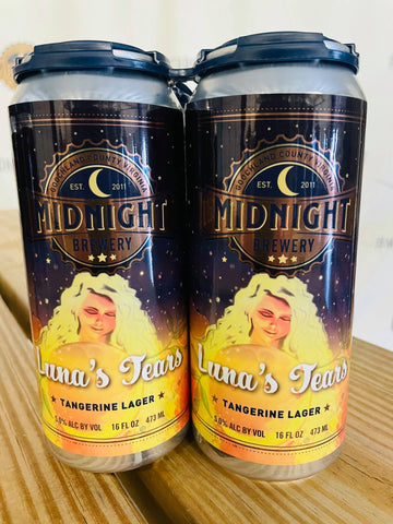 Midnight Brewery Luna's Tears Tangerine Lager