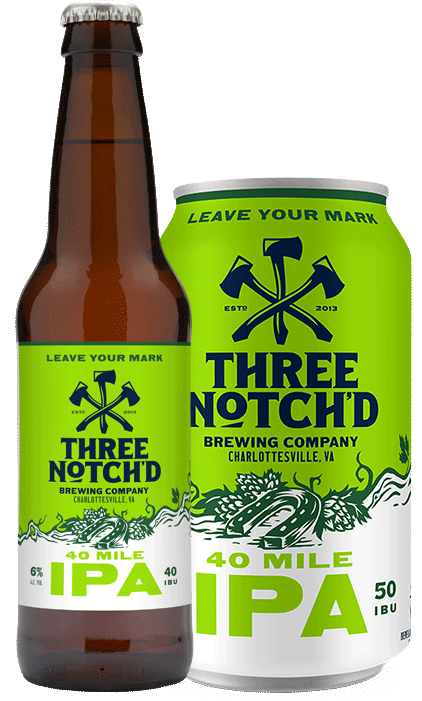 Three Notch'd 40 Mile IPA *single can*