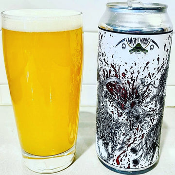 Nightmare Brewing Drawn & Quartered Quadruple dry Hopped IIPA