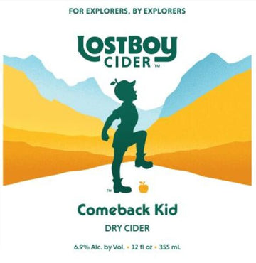 Lost Boy Comeback Kid Dry Cider