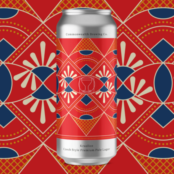 Commonwealth Brewing Kraslice Czech Lager *Four Packs*