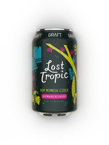 Graft Cider Lost Tropic Hop Mimosa