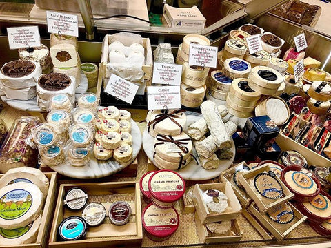 Cheesemonger's Selection (3-4 Different Cheeses)