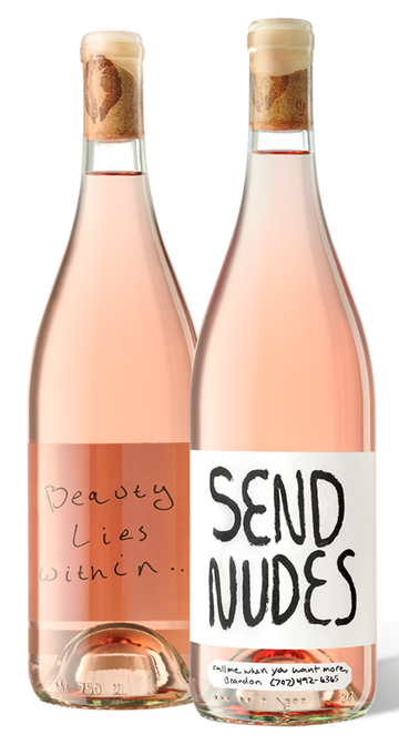 Slo Down Wines Send Nudes Rosé 2020