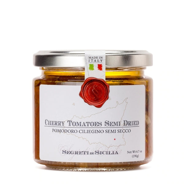 Dried Cherry Tomatoes in Extra Virgin Olive Oil- Frantoi Cutrera