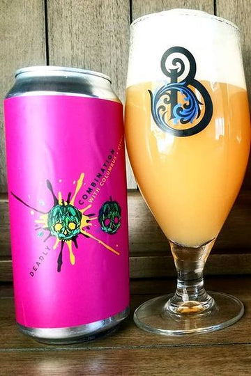 Barrier Brewing Co Deadly Combination Columbus & Citra IPA