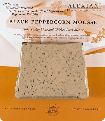 Black Peppercorn Mousse - Alexian
