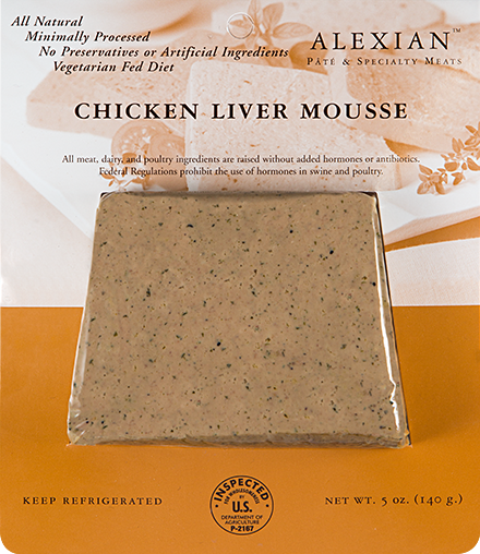 Chicken Liver Mousse - Alexian