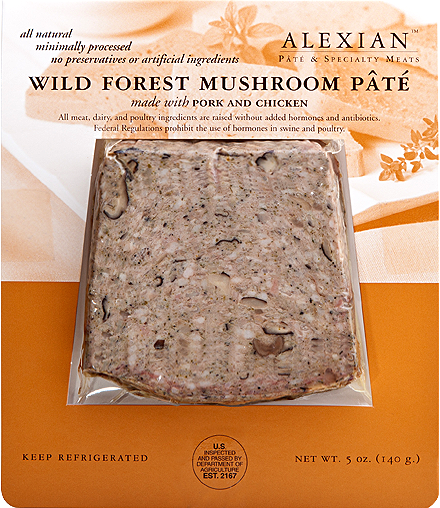 Wild Forest Mushroom Pate - Alexian