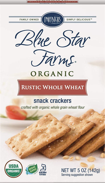 Rustic Whole Wheat Organic - Blue Star Farms