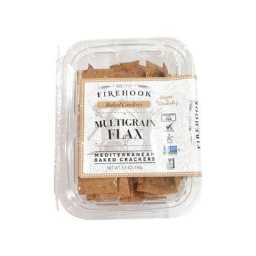 Multigrain and Flax Crackers - Firehook