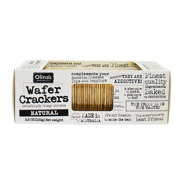 Natural Wafer Crackers - Olinas