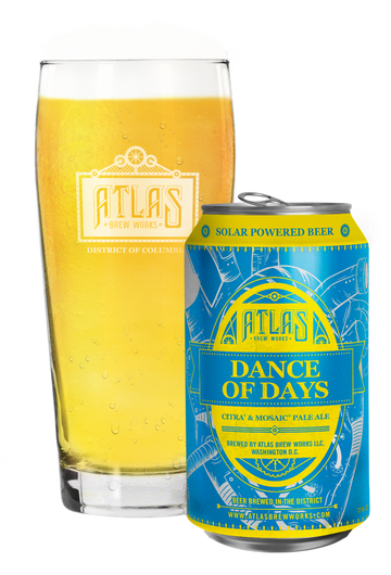 Atlas Brew Works Dance of Days Pale Ale