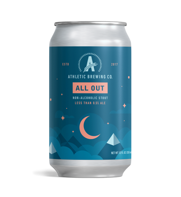 Copy of Athletic Brewing Co All Out NA Stout *Single Cans*