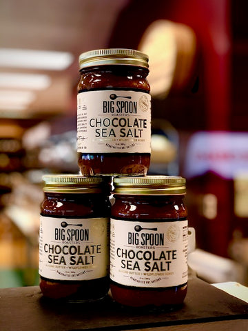 Chocolate and Sea Salt Almond Butter - Big Spoon Roasters