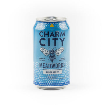 Charm City Elderberry Draft Mead Cans