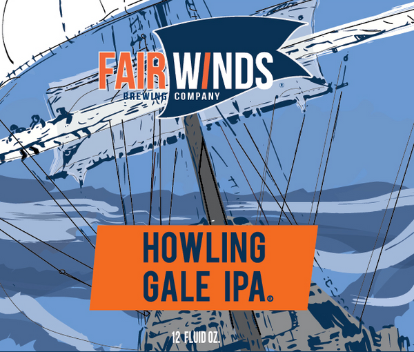 Fair Winds Howling Gale IPA *single can*